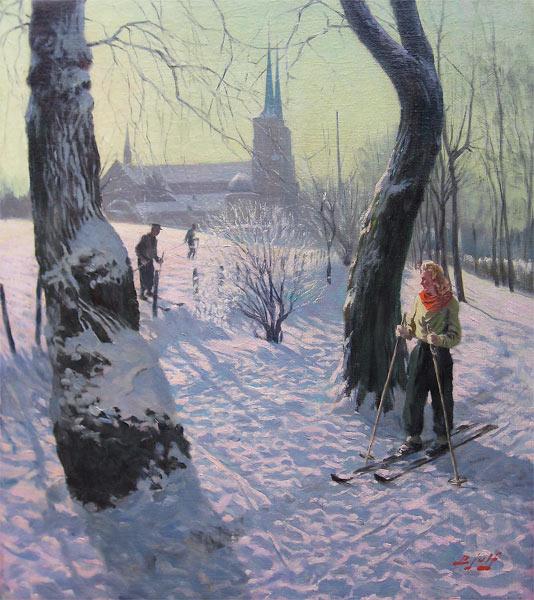 Winterlandscape (Soren C. Bjulf)