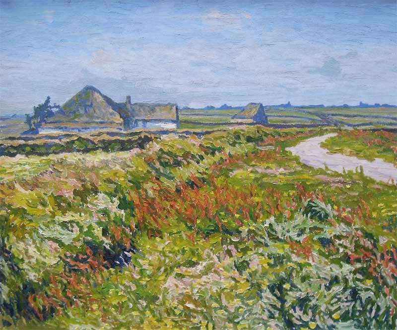 Bekendste Texelse kunstschilder uit de 20e eeuw.