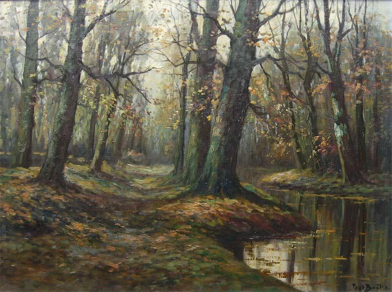 Bouter, Pieter Adrianus (Piet), geboren in Gouda 28 mei 1887, overleden Den Haag 16 september 1968. Woonde en werkte in die stad, Veur tot 1937, daarna in Den Haag. Heeft zich vnl. zelf gevormd. Schilderde landschappen met vee, heidelandschappen met schapen.