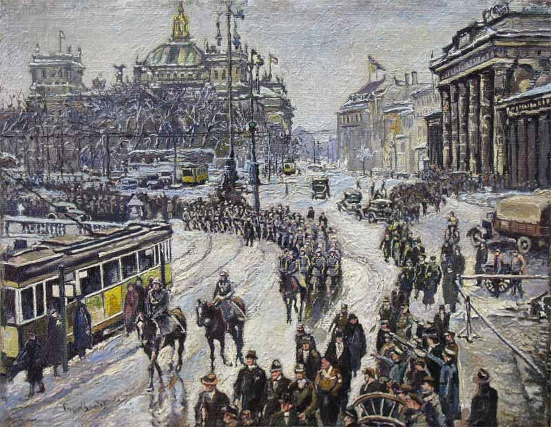 Der Reichstag (Josef Engelhart)