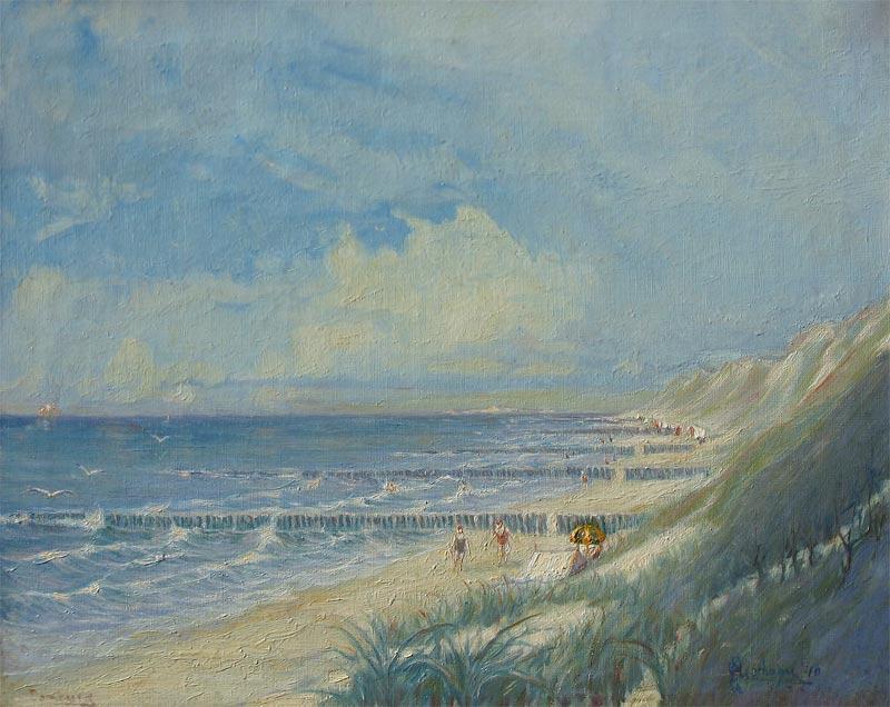 Fleurbaaij, Hendrik is geboren op 29 juni 1896 te Vlissingen. Hij woonde en werkte in Vlissingen, Schiedam, Soerabaja (Ned Indië), Apeldoorn tot 1959, van 1959 af in Valkenisse (Biggekerke). Vormde zich zelf. Oud-gezagvoerder van de grote vaart; schilderde en tekende zee-, rivier- en havengezichten en landschappen. Vooral zijn havens zijn gezocht. Hij was lid van de Apeldoornse Kunstkring.
