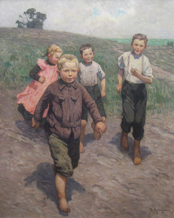 Playing Kids (Berthold Genzmer)