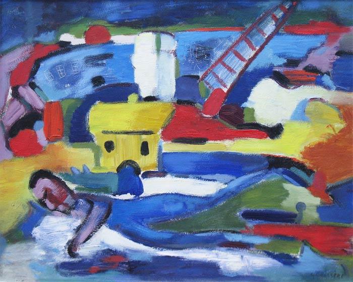 Gérard Grassère werd op 21 augustus 1915 in Heerlen geboren. Na zijn schoolopleiding volgde hij in Antwerpen de Academie der Schone Kunsten. Hij kreeg les van Isidoor Opsomer. In België kwam hij in contact met het werk van Constant Permeke, Gustave de Smet en de schilders van de tweede Lathemse school. Na een verblijf van 10 jaar in Eindhoven, kwam hij in 1950 in Utrecht te wonen. Hij raakte nauw bevriend met Otto van Rees, die grote invloed heeft gehad op Grassère. Zijn werk - eerst figuratief expressionistisch - ontwikkelde zich steeds nadrukkelijker naar abstract-expressionistisch. Gérard Grassère heeft vele tentoonstellingen gehad in Nederland, België, Duitsland, Zwitserland, Spanje, Zweden, Zuid-Afrika en de Nederlandse Antillen. Zijn werk bevindt zich onder andere in het Centraal Museum Utrecht, het Stedelijk Museum Amsterdam, het Pretoriase Kunstmuseum, Curaçaos Museum en in diverse collecties in Nederland en daarbuiten. In 1986 was er een grote overzichtstentoonstelling van zijn werk in het Centraal Museum Utrecht. Gerard Grassere overleed in 1993 te Den Bosch.