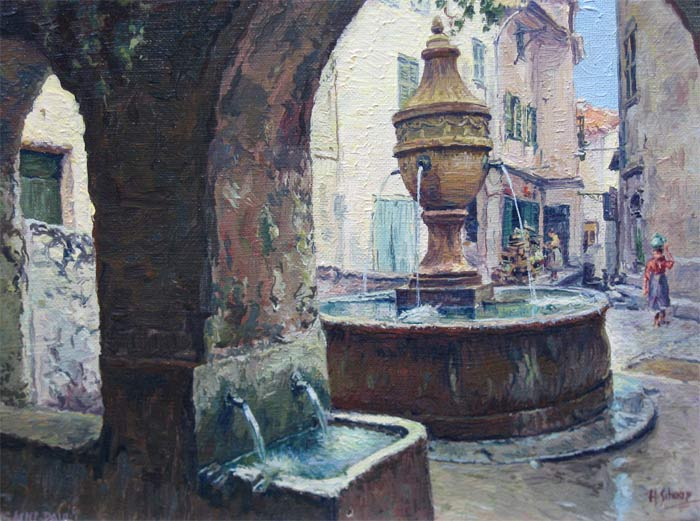 Schaap, H.Schaap, Hendrik Schaap was born in Delft in 1878 and he died in  Rotterdam in 1955.