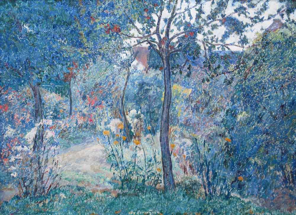 In the garden (Jan van Herwijnen)