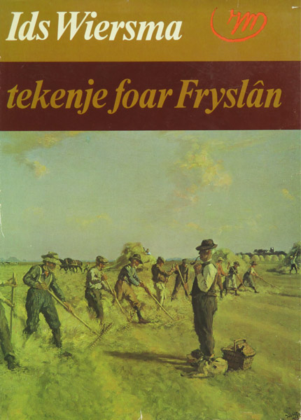 Monografie van Ids Wiersma, Tekenje foar Fryslan., hard kaft, 199 pag.