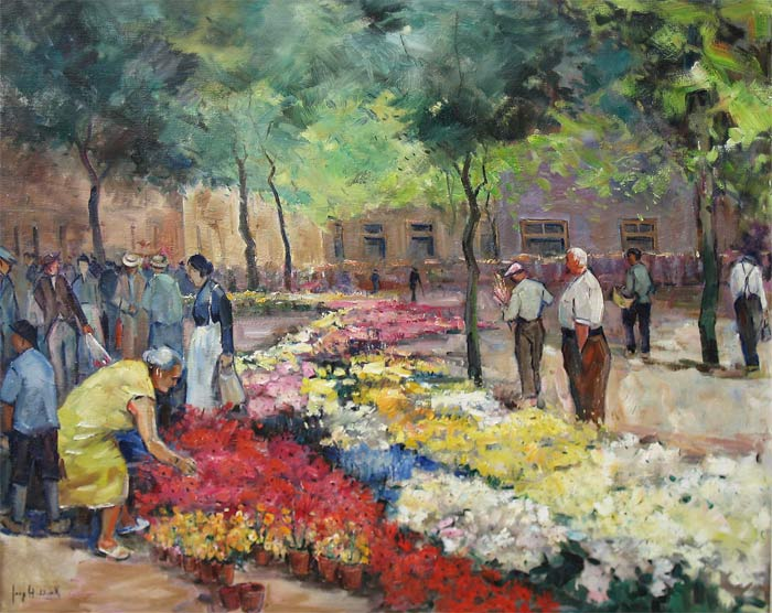 en]Flowermarket (Jaap Hiddink)