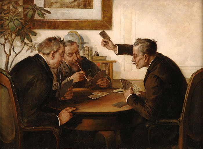 Playing cards (Hans Lassen)