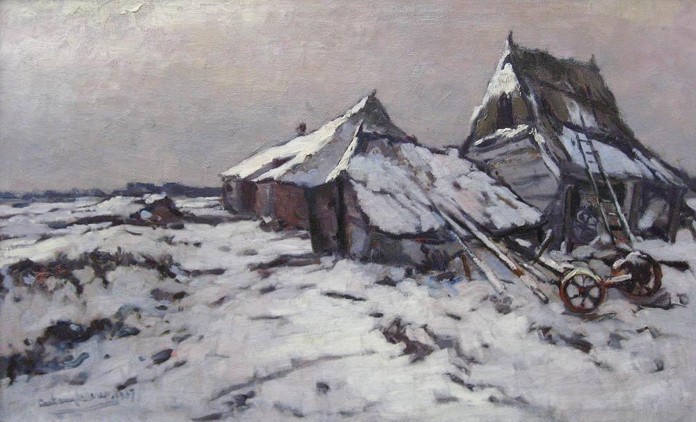 Winterlandscape (A. Keizer)