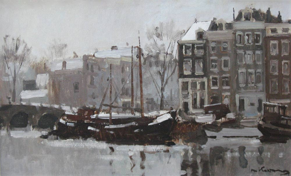Winter in Amsterdam (Jan Korthals)