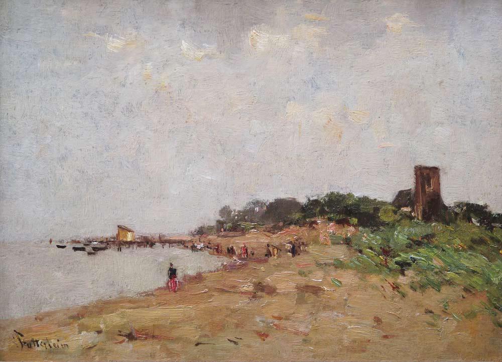 Strandgezicht Muiderberg
