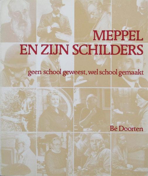 Meppel en zijn schilders, Be Doorten, softcover, 166 pag.