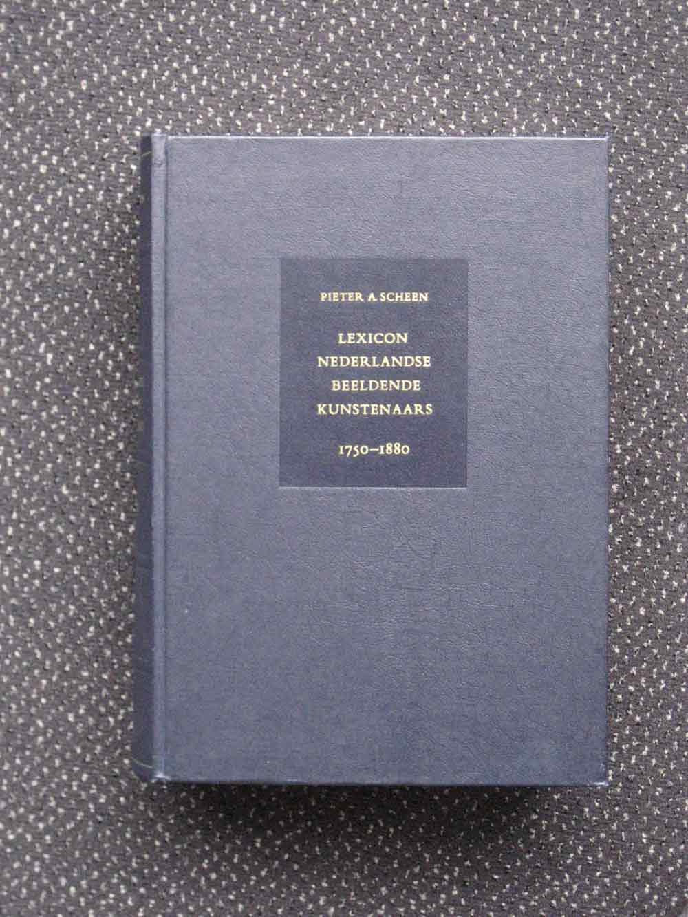 P.A.Scheen Lexicon Dutch painters, 1750-1850, new