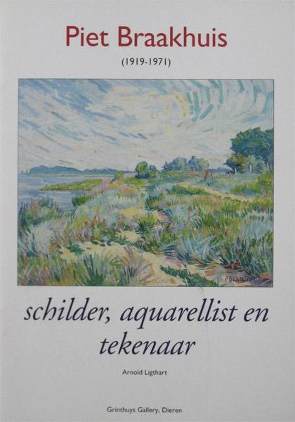 Braakhuis, P. Braakhuis, piet Braakhuis, 1919-1971, monografie, paperback, 26 pagina's