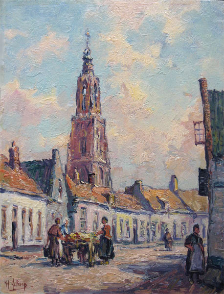 Schaap, H.Schaap, Hendrik Schaap was born in Delft in 1878 and he died in 