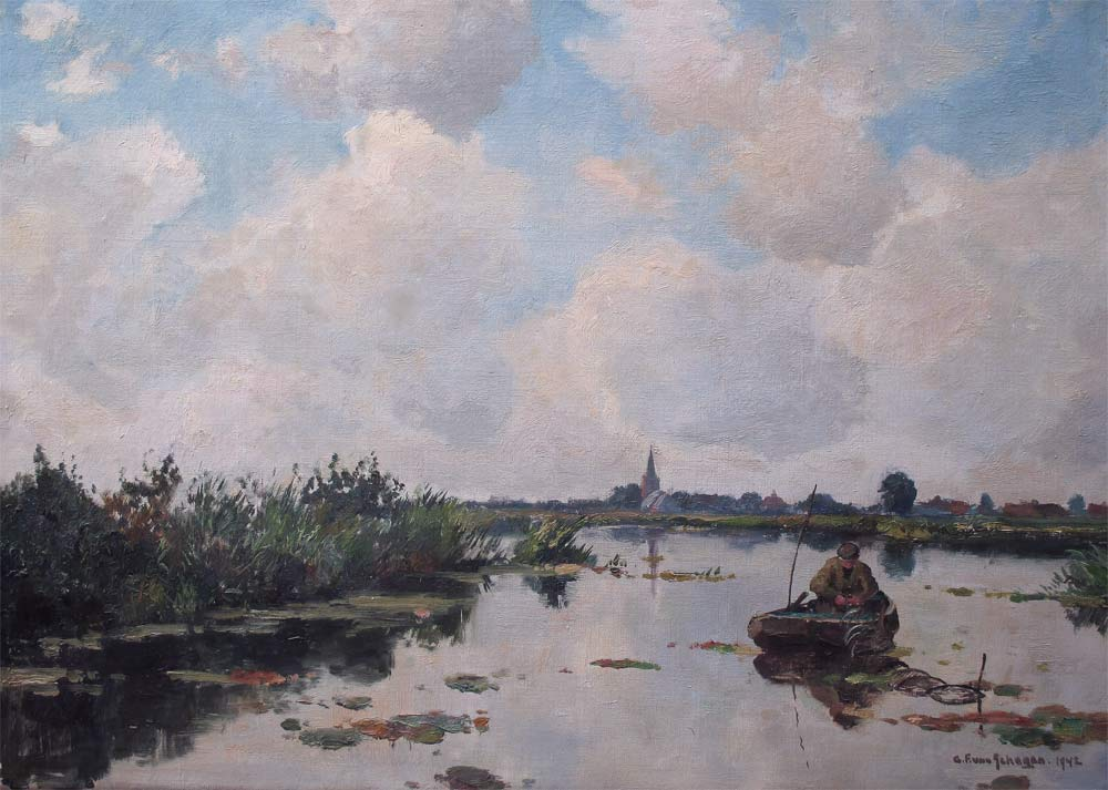 Schagen, G.F.van Schagen, Gerbr. Fred. van Schagen was born in Den Haag in 