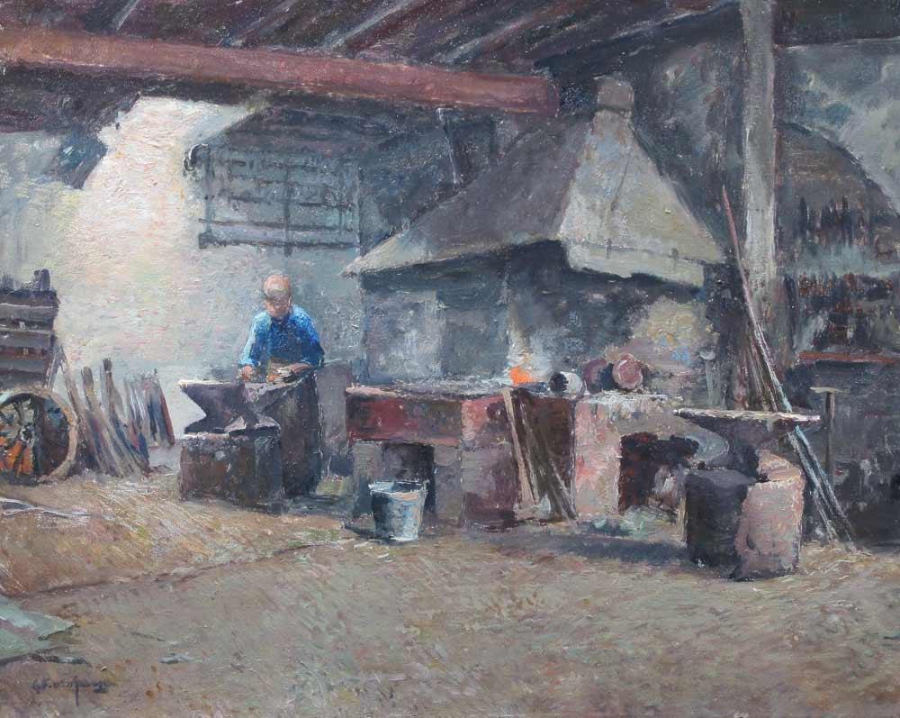 Schagen, G.F.van Schagen, Gerbr. Fred. van Schagen was born in Den Haag in  1880 and he died in Laren in 1968.