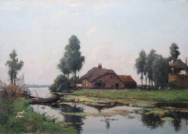 Schagen, G.F.van Schagen, Gerbr. Fred. van Schagen was born in Den Haag in  1880 and he died in Laren in 1968