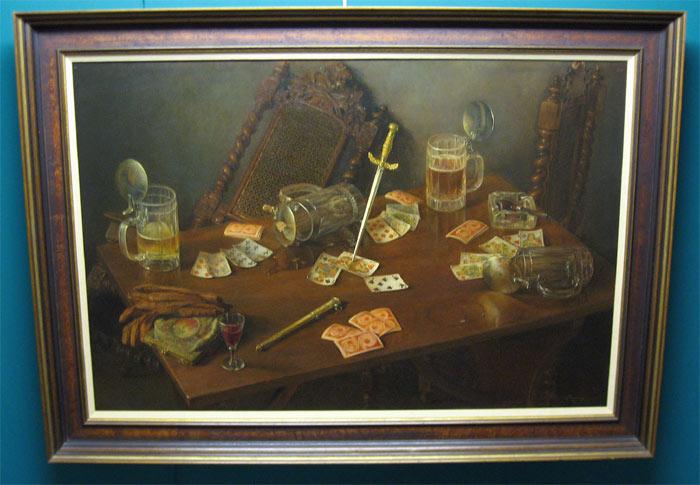 Timmermans, Antonius Johannes (Tonny) Timmermans is geboren op 30 november 1906 te Den Bos en overleden in 1991. Werkte sinds 1915 in Amsterdam. Werkte veel in Zwitserland, Frankrijk, Duitsland enz. Autodidact (les van tekenleraar Th. Swinkels). Schildert, ook met paletmes zonder voortekenen, maar ook met penseel. In naturalistische trant, stadsgezichten, portretten, stillevens enz. Wordt genoemd: 'picturaal zondagskind' en 'als artistieke verschijning ben je zeldzaam beminlijk'. Werk in de Rijkscollectie.