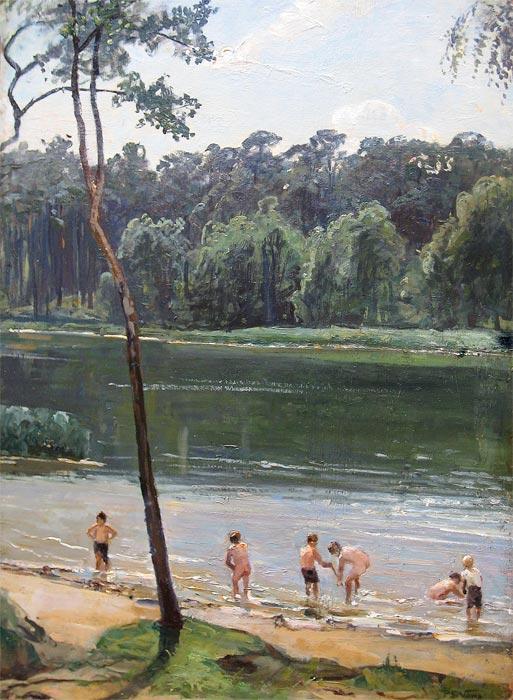 Vowe, P.G.Vowe, Paul Gerhart Vowe is born in 1874 in Elberfeld (Germany) and he died in Wehrau/Niederschlesien (Polen) on 5 november 1937. Works from him are in the museum of Elberfeld (Germany).