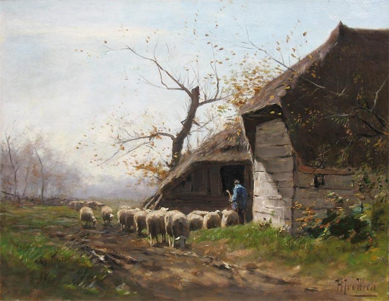 Weele, H.J. van der Weele, Herman Joh.v. d. Weele was born in Middelburg in 1852 and he died in 1930.