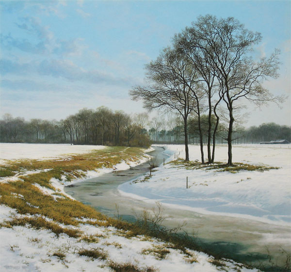 Winterlandschap (Paul Wieggers)