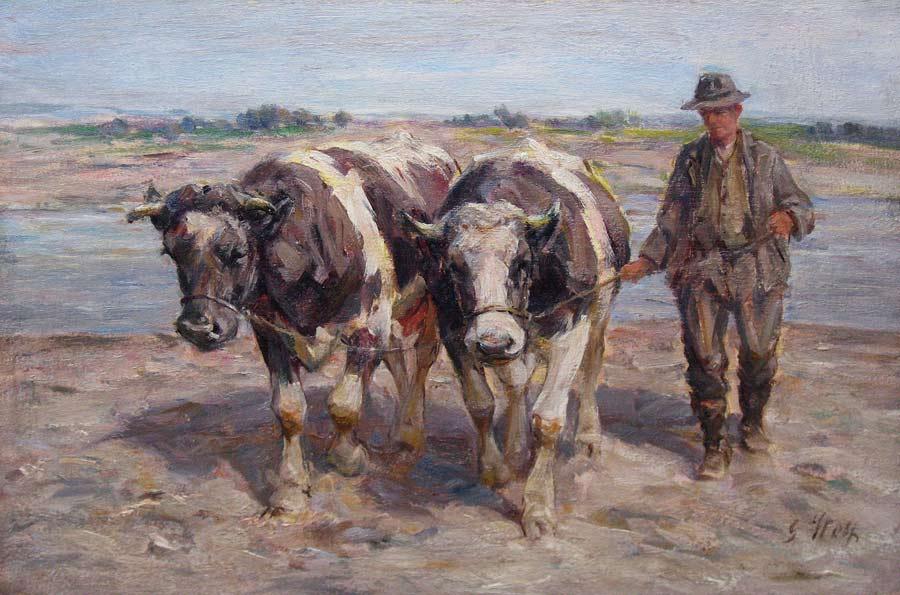 Wolf, Georg Wolf is geboren in 1882 te Niederhausbergen, Elzas en overleden  in 1962 te Uelzen (Dusseldorf). Bekend dierenschilder in Düsseldorf. Leerling  van de Strassburger Kunstgewerbesch. en daarna met een tussenstop in  München leerling van de Düsseldorfer Akademie onder leiding van J.P.  Junghanns.