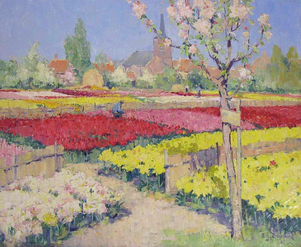Bloembollenveld (A.J.Zwart)