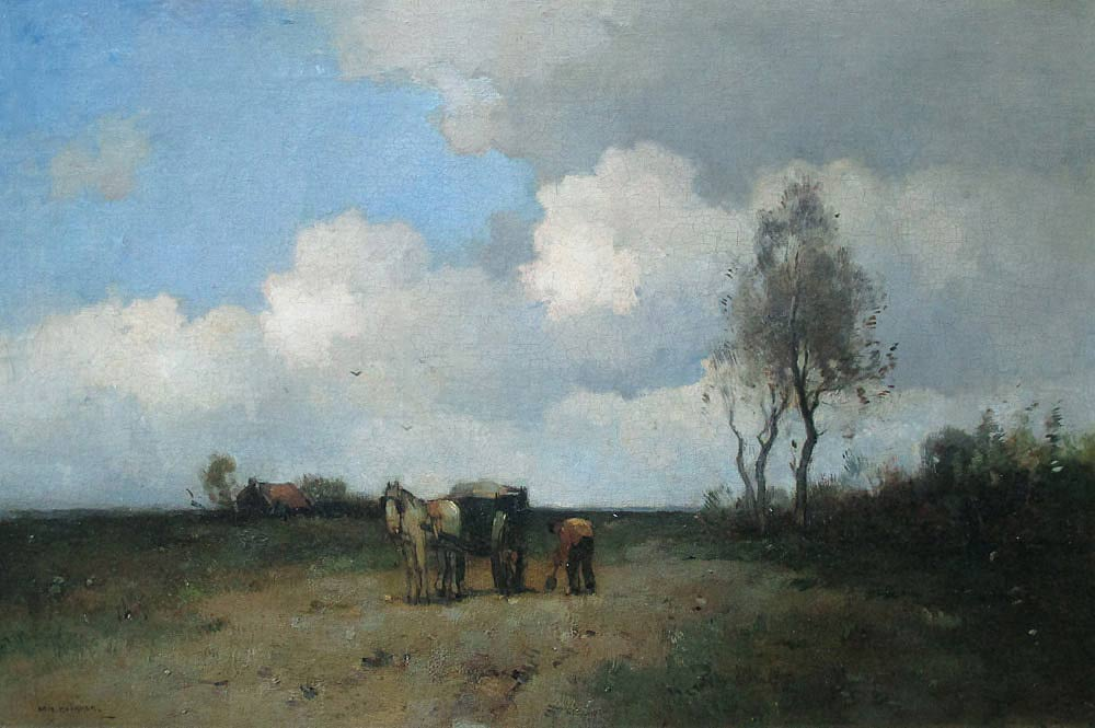 Knikker, A. Knikker, Aris Knikker was born in Haarlem in 1887 and he died in Den Haag in 1962.