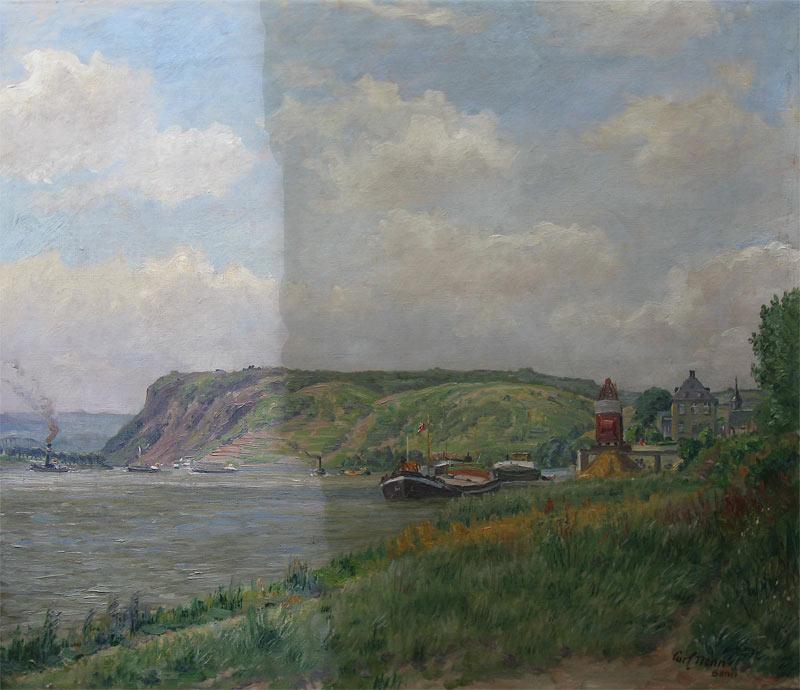 Nonn,-K.-Nonn,-Carl-Nonn,-Karl-Nonn-1876-1949-60x70cm,Die-Erpeler-Ley-bei-Linz-am-Rhei