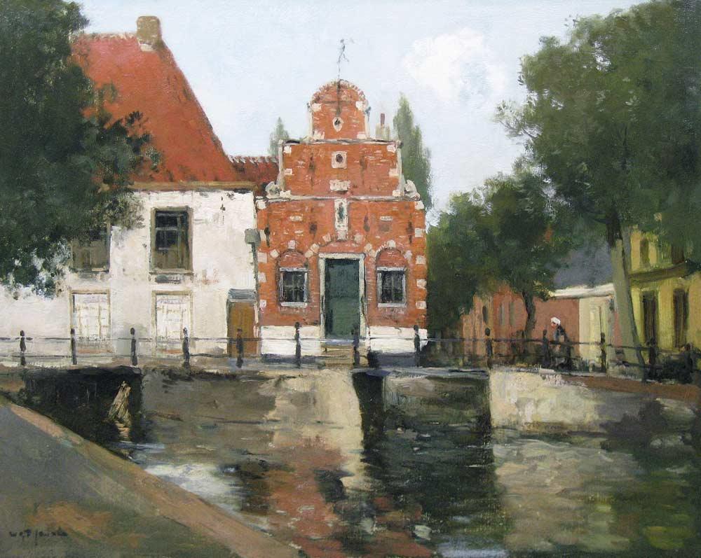 Jansen, W.G.F.Jansen, Willem George Frederik Jansen was born in harlingen in  1871 and he died in Blaricum in 1949.