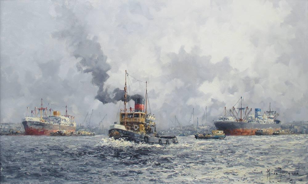 Jongere, M. de Jongere, Marinus Drulman was born in Amsterdam in 1912 and he  died in Amsterdam in 1978.
