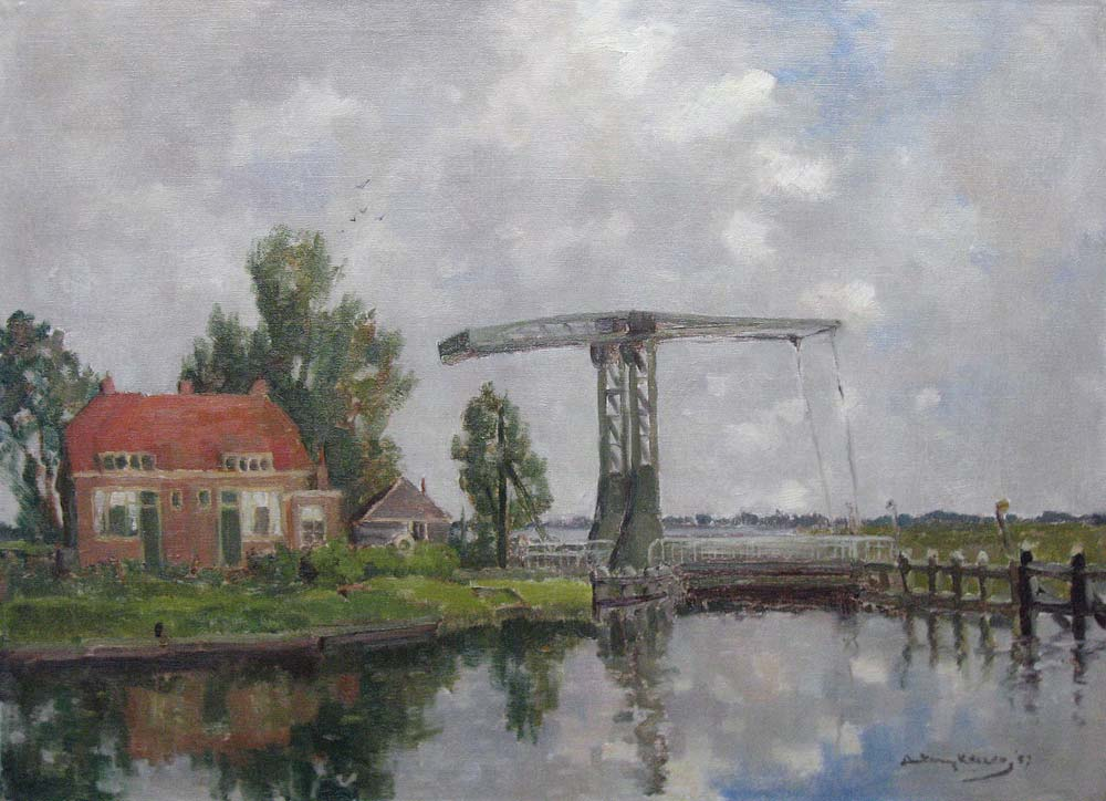 Keizer, A. Keizer, Antony Keizer was born in meppel in 1897 and he died in Meppel in 1961.