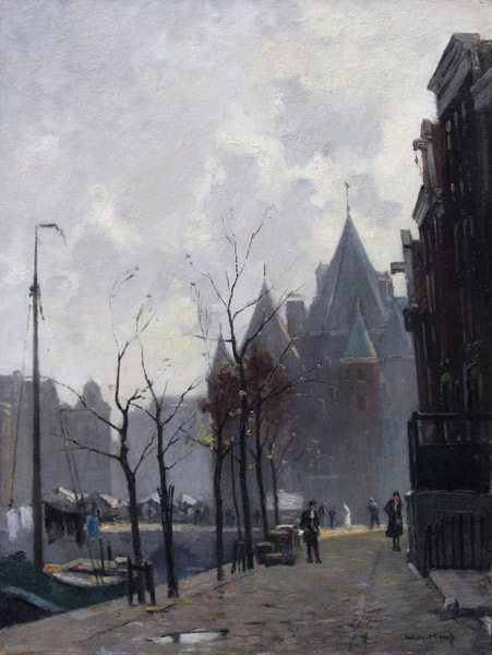Knip, W.A. Knip, Willem Alexander Knip was born in Amsterdam in 1883 and he died in Blaricum in 1967.