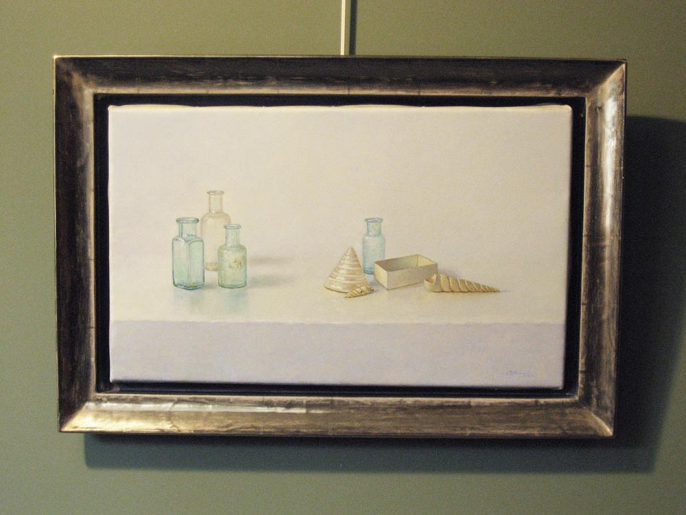 Stillife, size including frame 44x64cm
