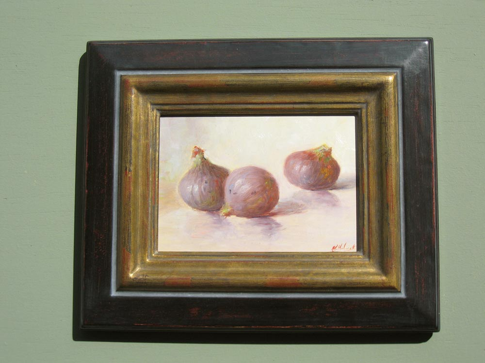 Stillife, size including frame 25x30cm