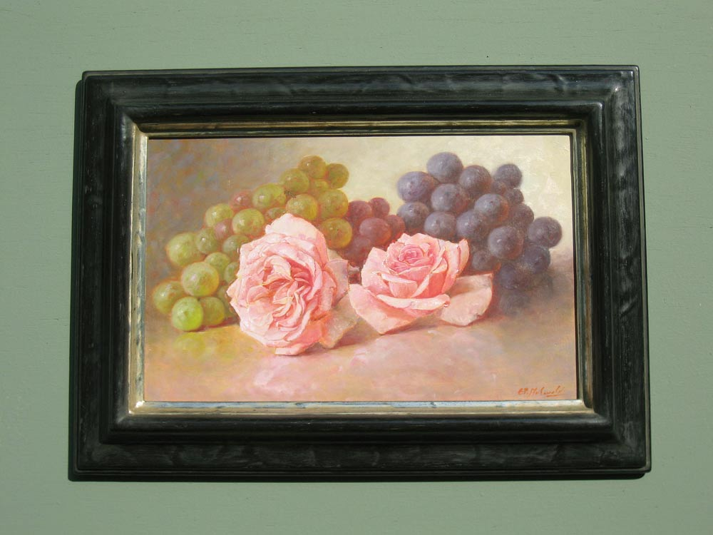 Stillife, size including frame 29x40cm