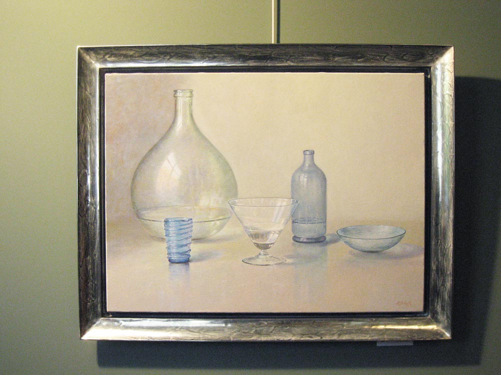 Stillife, size including frame 74x94cm