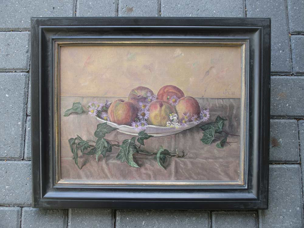 Stillife, size including frame 44x54cm