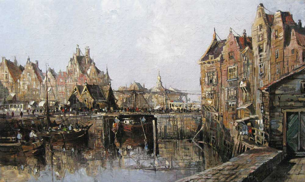 Herman Paradies was born in Rotterdam in 1883 and he died in 1966 in  Schiedam