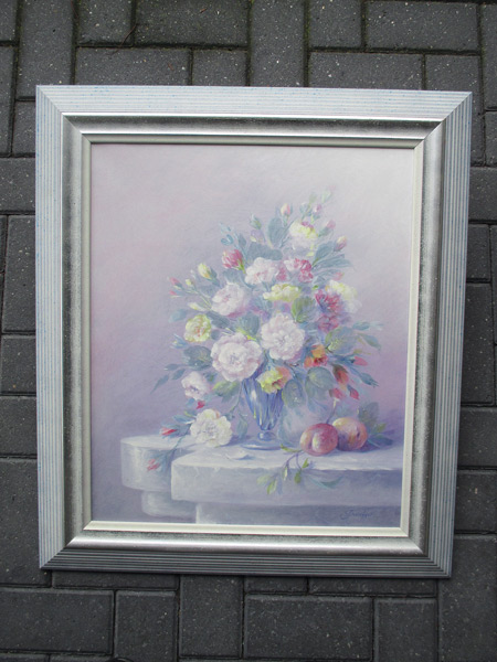Stillife, size including frame 70x80cm
