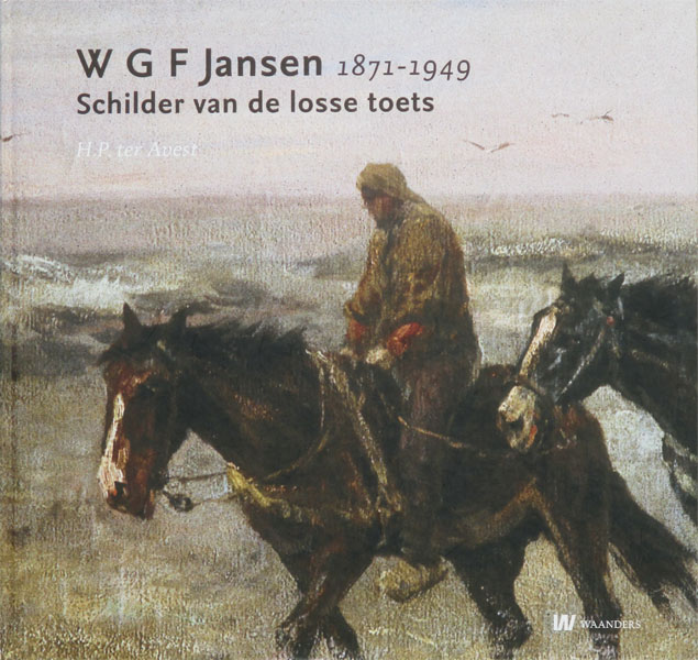 Monografie van W.G.F. Jansen, hard kaft, 136 pagina's, nieuw