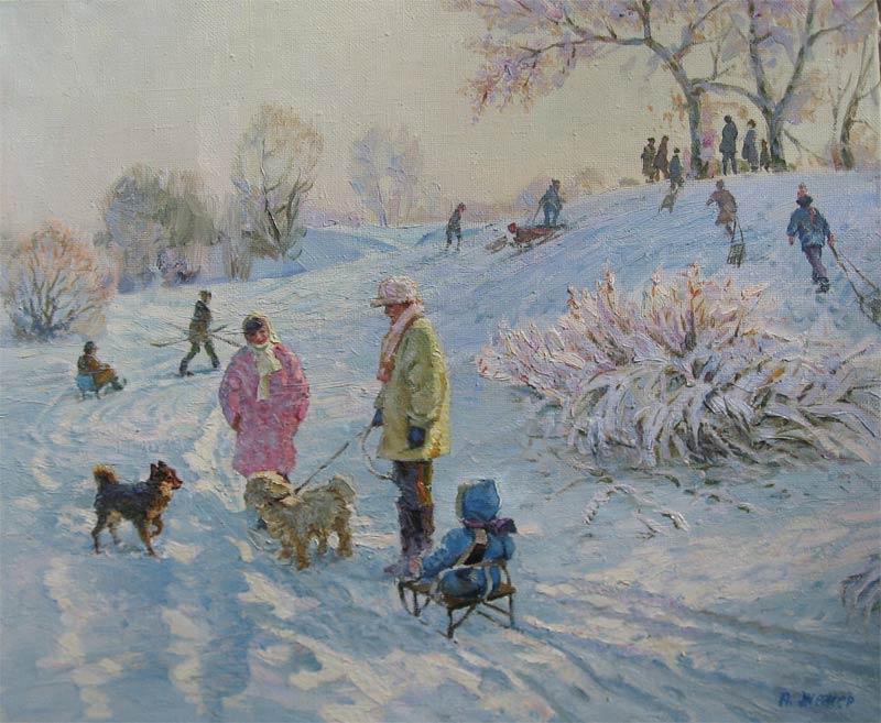 Literatuur: 1955-1961 Dneprepetrewsker Kunstschule, Musea: Dnepropetrowak, Kiew, Moskau.  De manier van werken van deze kunstenaar komt in afwisselende stijlen veel overeen met de Zuidelijke Oekraïnische school.